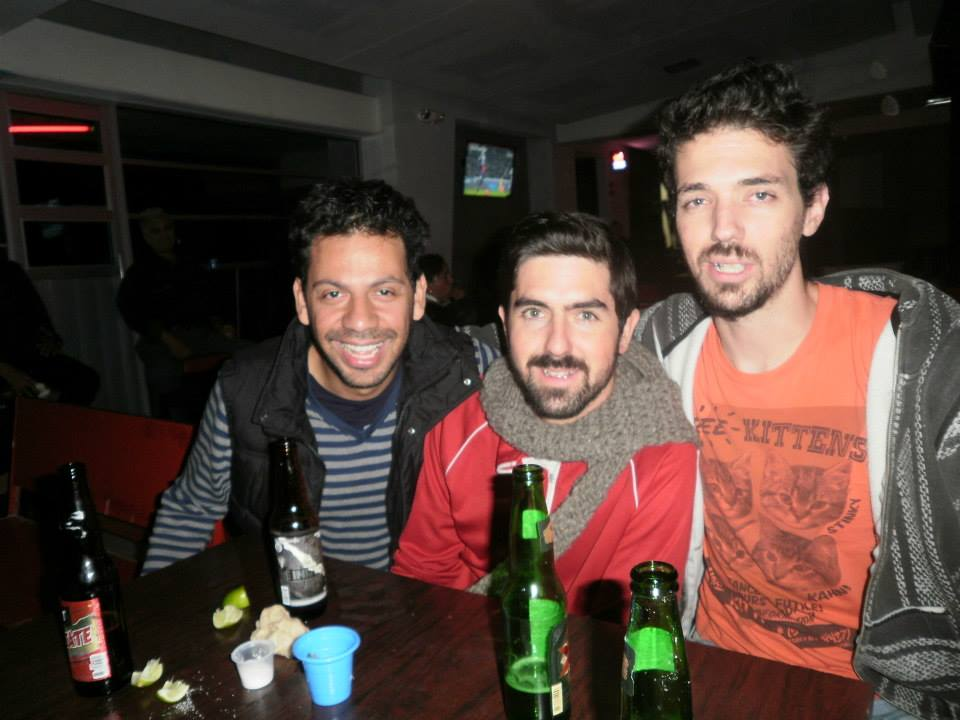 Adrian, my brother and me.